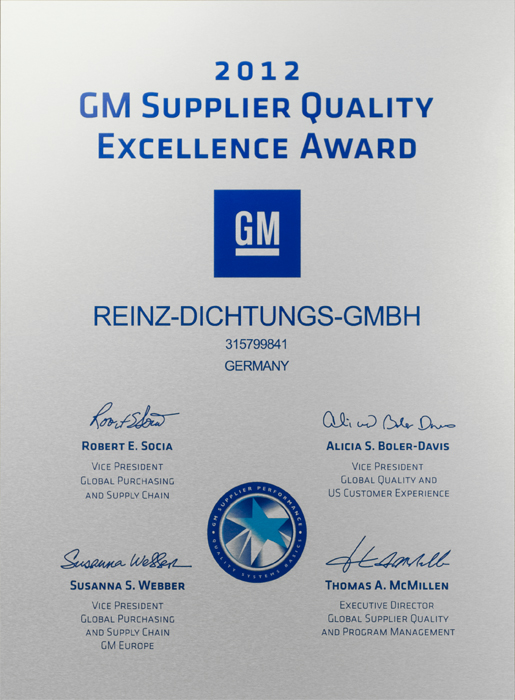 Gm Supplier Of The Year Award 2017
